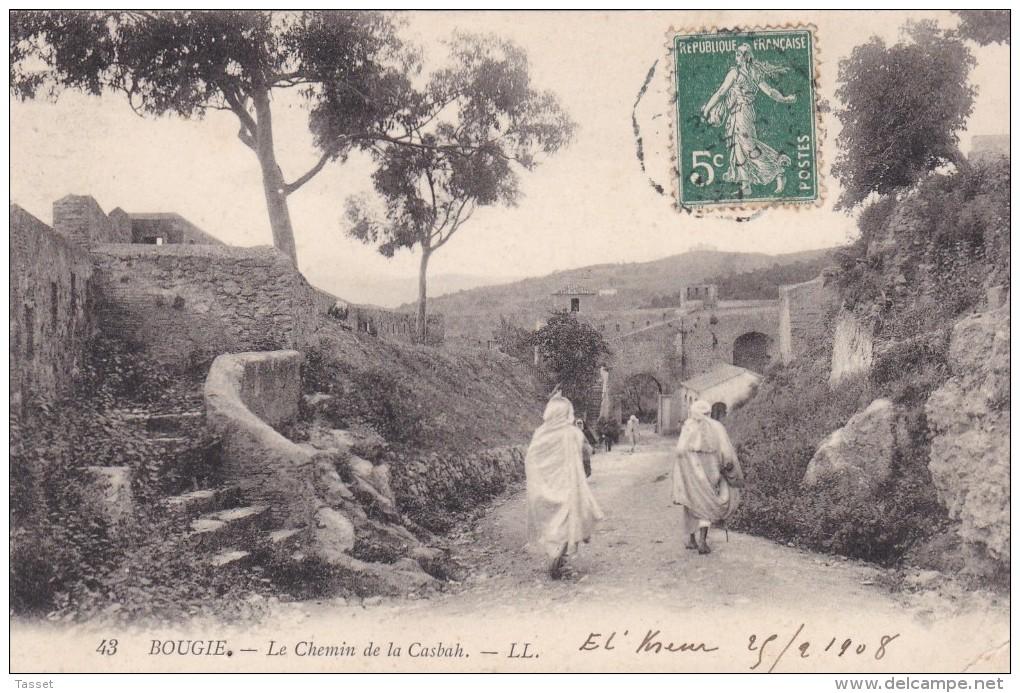 Algérie   : Bougie  Le Chemin De La Casbah   Edt : LL 43 - Bejaia (Bougie)