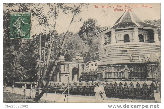 CEYLON THE TEMPLE OF THE HOLY TOOTH KANDY - Sri Lanka (Ceylon)