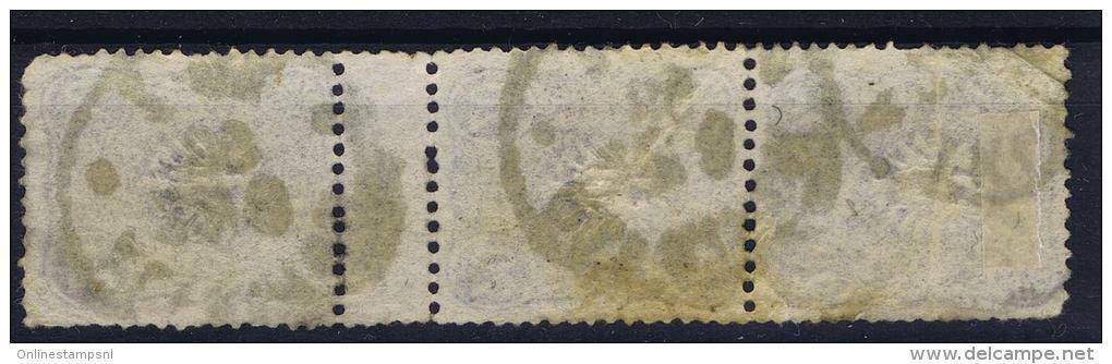 Deutsches Reich: Mi Nr 42  Used Zwischenstegpaare - Deutschland