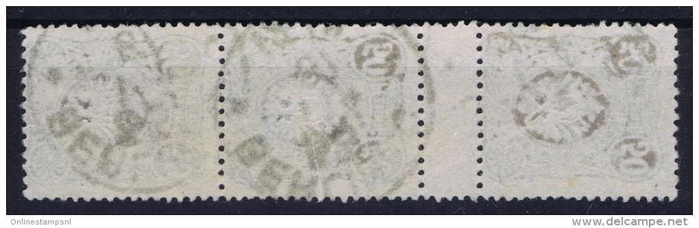 Deutsches Reich: Mi Nr 44  Used Zwischenstegpaare - Gebraucht