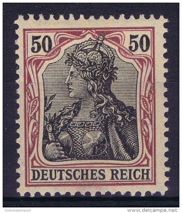 Deutsches Reich: Mi Nr 91 I A   MH/*  Signed/ Signé/signiert/ - Ungebraucht