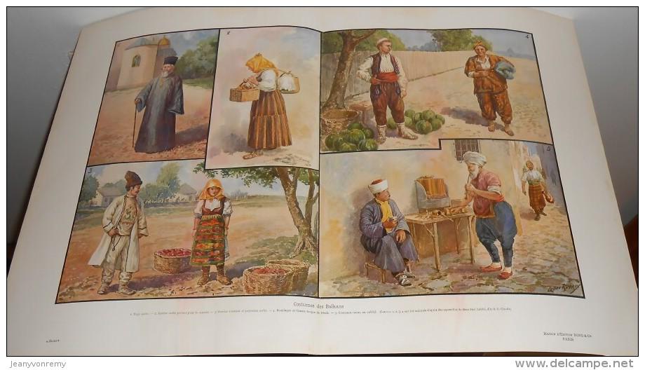 Costumes Des Balkans.  Photogravure. 1914. - Albanien