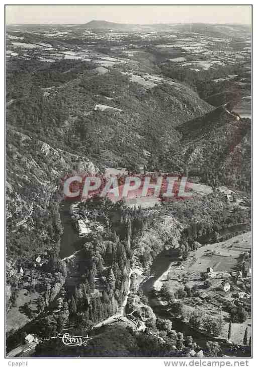 CPM Chateauneuf Les Bains (P De D) Vue Aerienne Sur La Vallee De La Sioule - Autres Communes