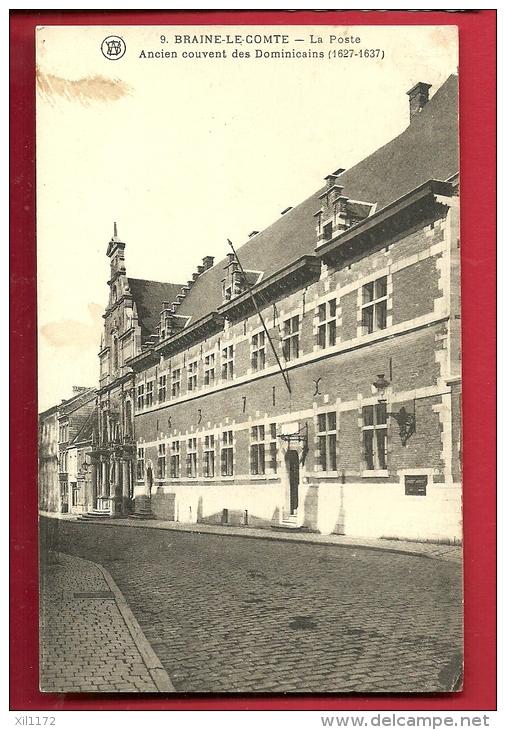 PAC-07 Braine-le-Comte  La Poste  Ancien Couvent Des Dominicains. Cachet 1925 - Braine-le-Comte