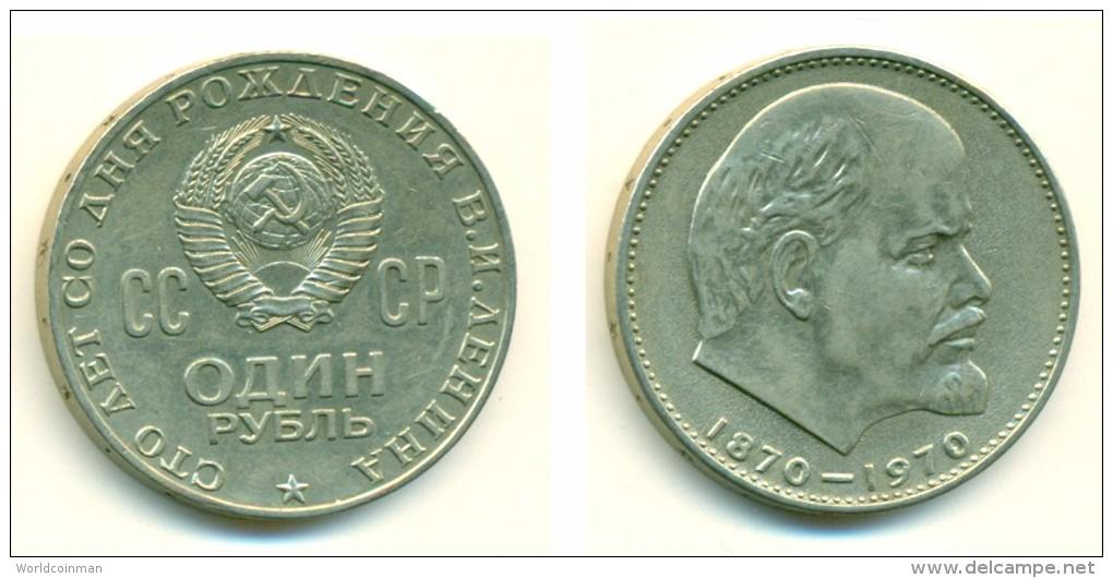 1970 Russia Commemorative 1 Rouble Coin - Rusland