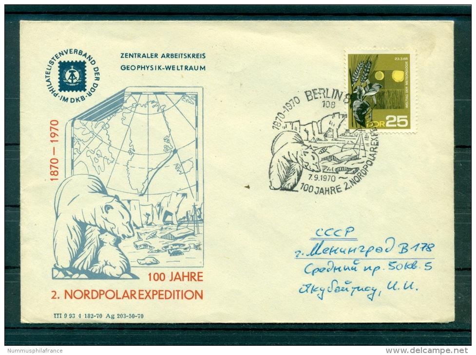 Allemagne - RDA 1970 - 2eme Expedition Arctique - Événements & Commémorations