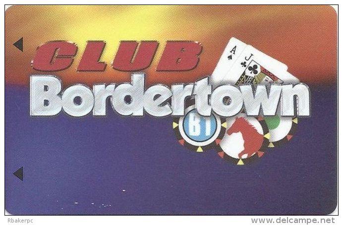 Bordertown Casino Seneca, MO Slot Card (Blank) - Casino Cards