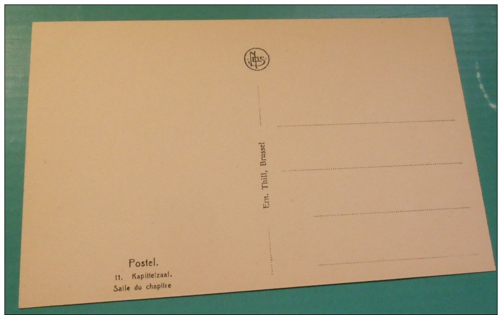 Postel (Mol) :  Abdij -  Kapittelzaal // Salle Du Chapitre (2009) - Mol