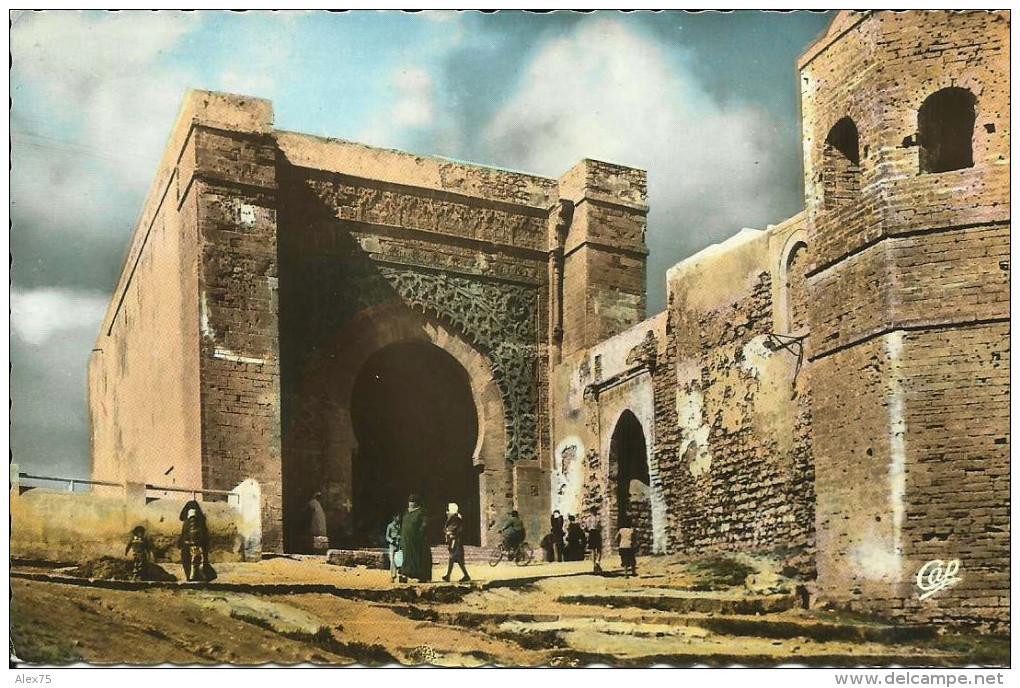 RABAT -- Porte Monumentale De La Kasba Des Oudaïas -- - Rabat