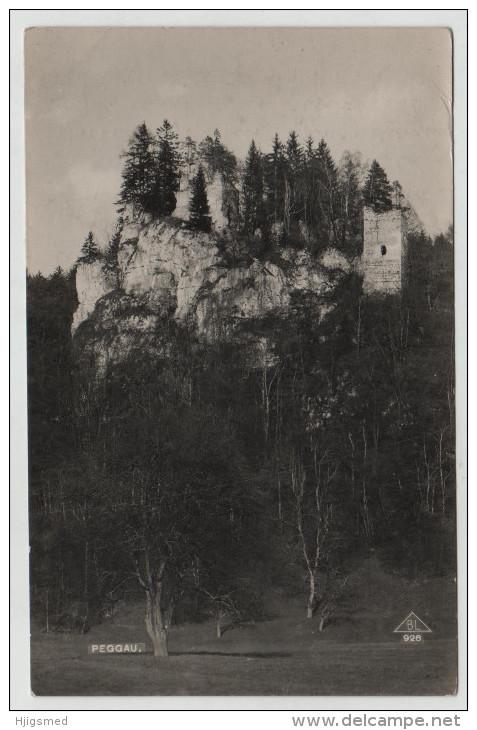 Austria Österreich Peggau Steiermark Turm Wald RPPC Real Photo Post Card Postkarte Karte Carte Postale POSTCARD - Sonstige