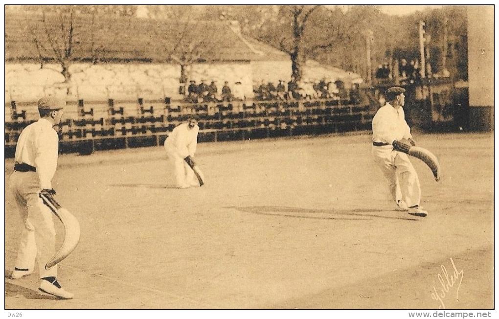 Au Pays Basque - Joueurs De Pelote à Chistera - Marcel Delboy - Carte Non Circulée - Cartes Postales