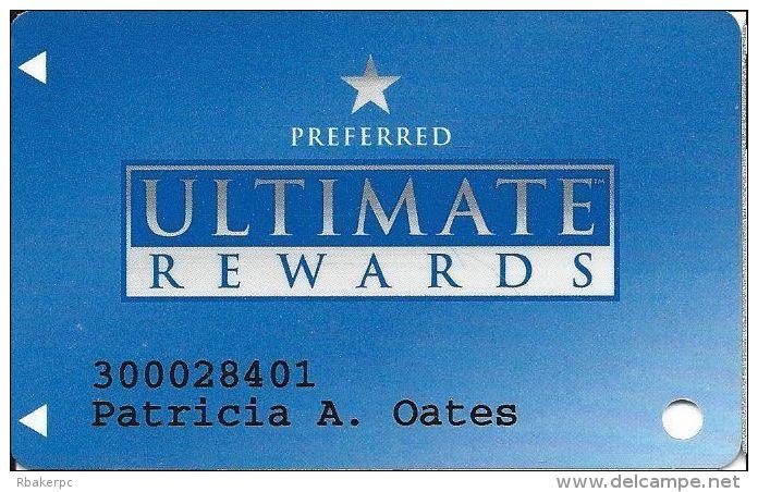 Stratosphere & Arizona Charles Casino Ultimate Rewards Slot Card - 1st Issue Preferred - Casino Cards