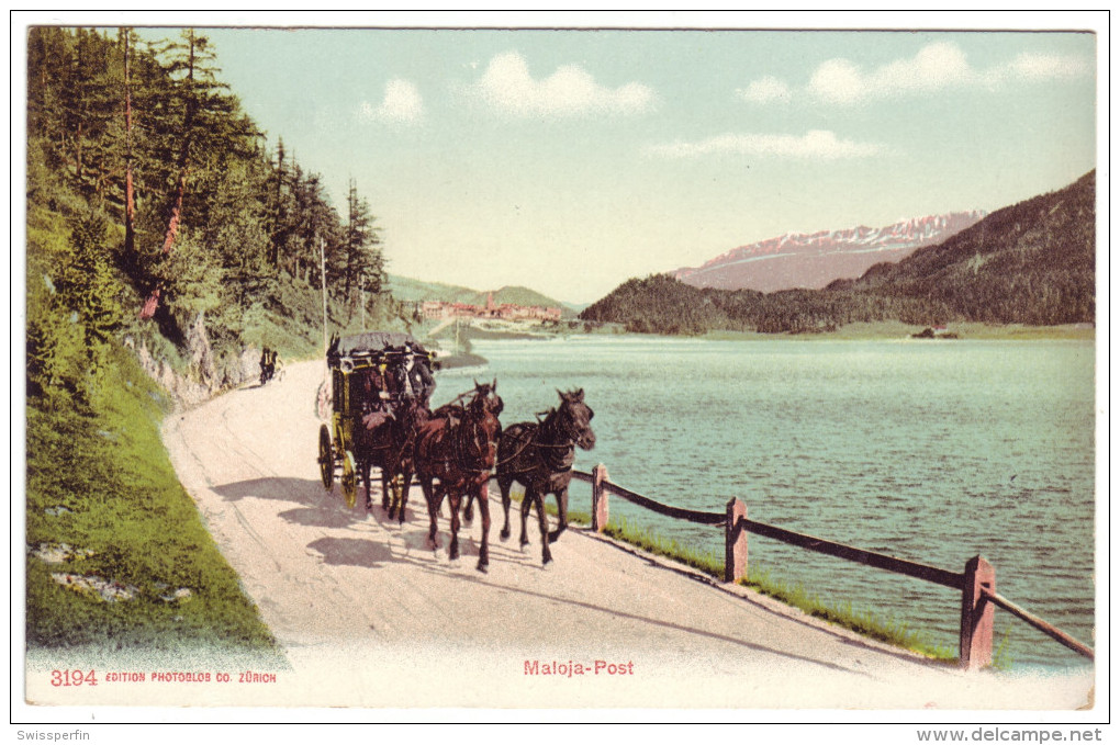 652 - Maloja-Post - BE Berne