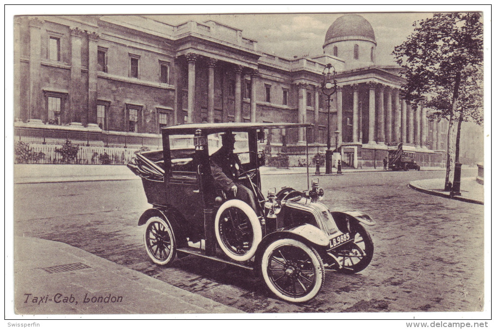 545 - Taxi-Cab In London - Taxis & Fiacres