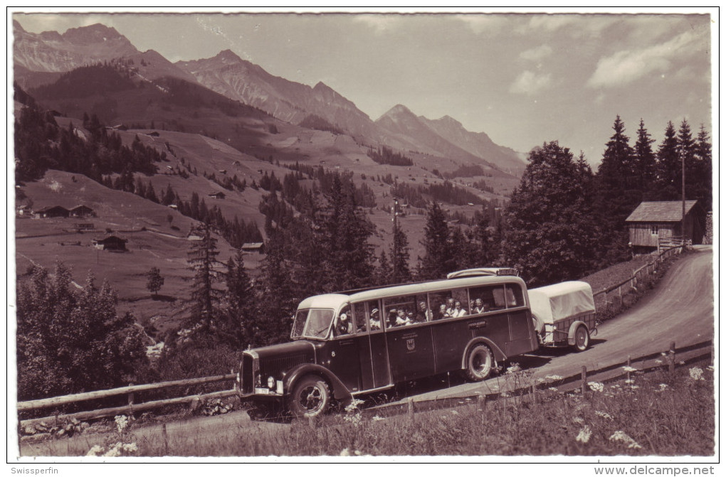 543 - Postauto Frutigen-Adelboden - Bus & Autocars