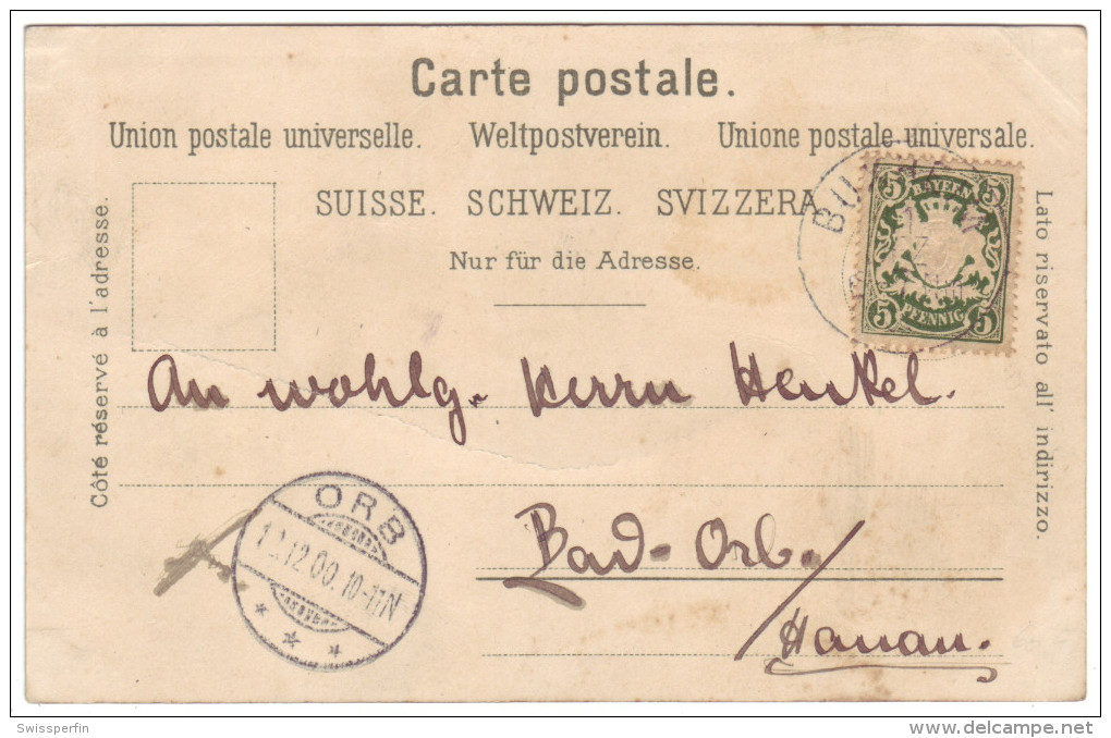 527 - Gruss Aus Eglisau - Litho - ZH Zurich