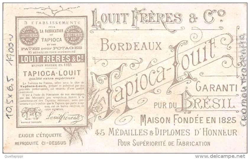 "03403 ""CHOCOLAT LOUIT FRERES & CO - GUERRE DU TRANSWAAL - BOMBARDEMENT DE LADYSMITH, 30/10/1899"" MILITARI.  FIGUR. ORIG. - Cioccolato"
