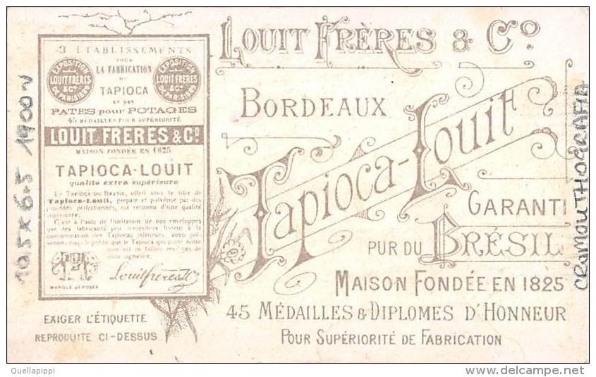 "03404 ""CHOCOLAT LOUIT FRERES & CO-GUERRE DU TRANSWAAL - LE COLONEL SPRAGGE A LINDLEY 29/05/1900"" MILITARI  FIGUR. ORIG. - Cioccolato"