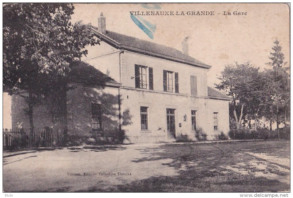 VILLENAUXE  LA  GRANDE  -  La  Gare. - Autres Communes