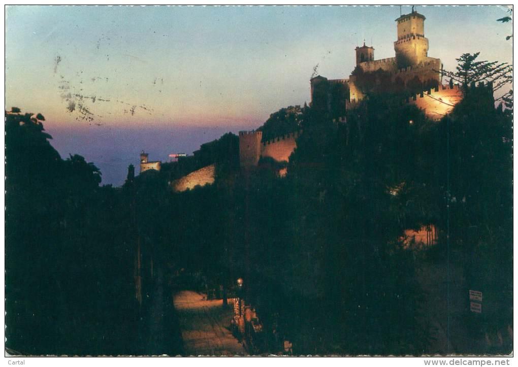 CPM - Republica Di S. Marino - Visione Al Tramonto - San Marino