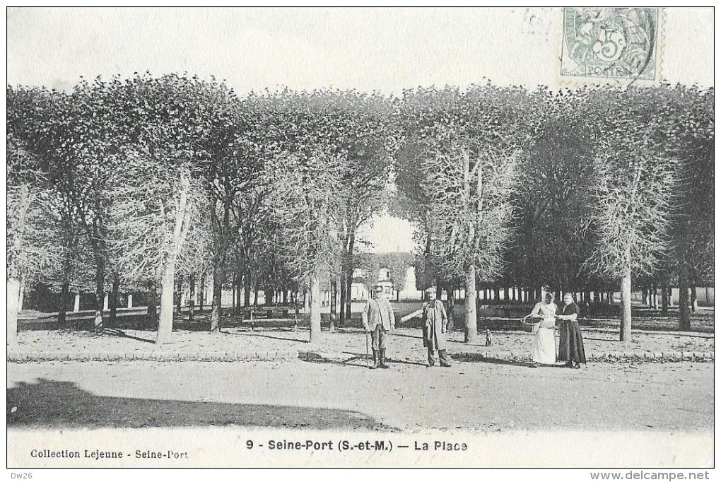 Seine-Port (Seine Et Marne) - La Place - Garde-Champêtre - Collection Lejeune - Francia