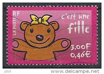 """2001 - N° 3378 : """"C´est Une Fille"""" - Frankreich"""