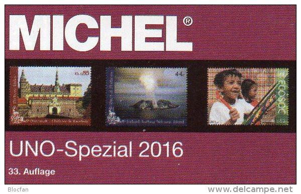 Michel UNO Spezial Katalog 2016 New 56€ ZD-Bögen FDC Markenhefte Stamp UN-Post Genf Wien New York ISBN 978-3-95402-139-0 - Télécartes
