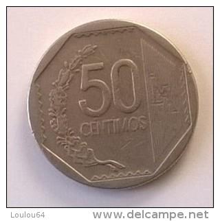 Pérou - 50 Centimos 2006 - - Pérou