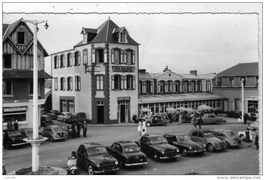 403 ( DS - 2 CV - 4 CV - Frégate - Vespa  - Agon-Coutainville (Manche)  - Hôtel Beau Rivage - Voitures De Tourisme