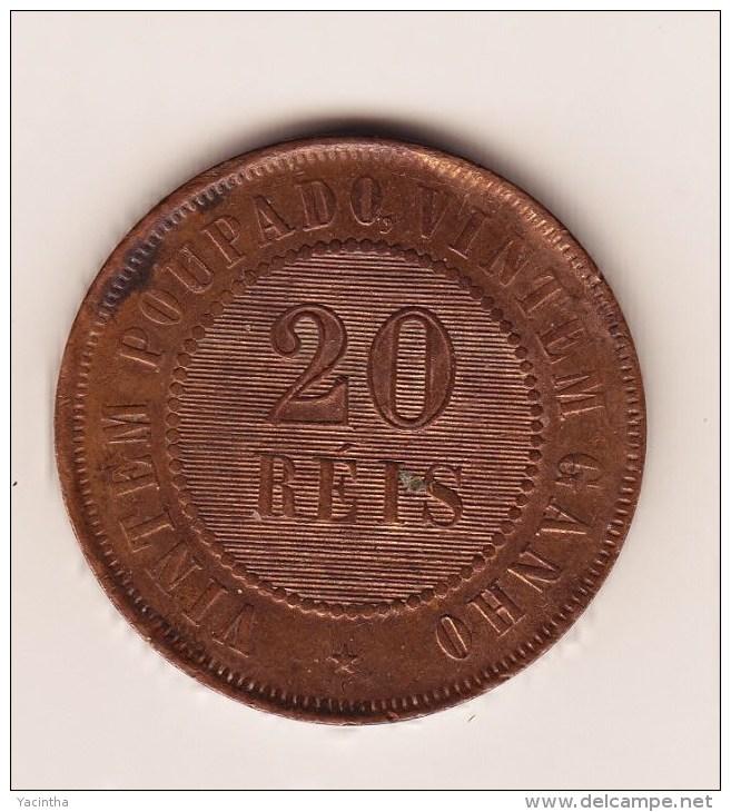 @Y@  Brazilie  20 Reis  1910     ( 2888 ) - Brésil