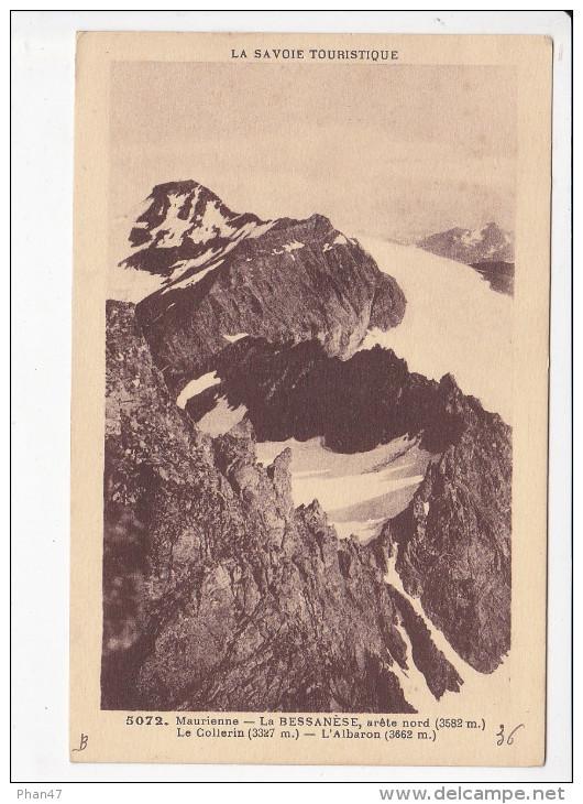 BESSANS (73-Savoie), La Bessanèse, Arête Nord, Le Collerin, L'Albaron, Maurienne, Ed.Grimal 1930 Environ - France