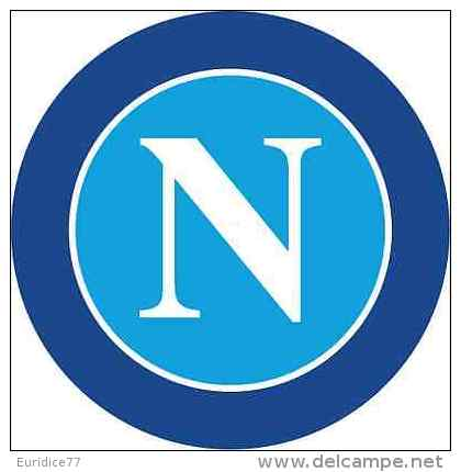SSC Napoli FC Italy Soccer Football Sticker Decal 13x13 Cm. Aprox. - Stickers