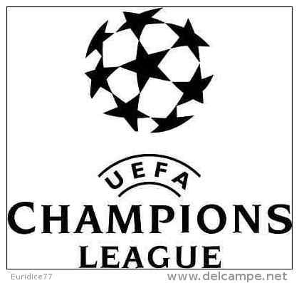 Champions League UEFA Logo Soccer Football Sticker 13x13 Cm. Aprox. - Sin Clasificación