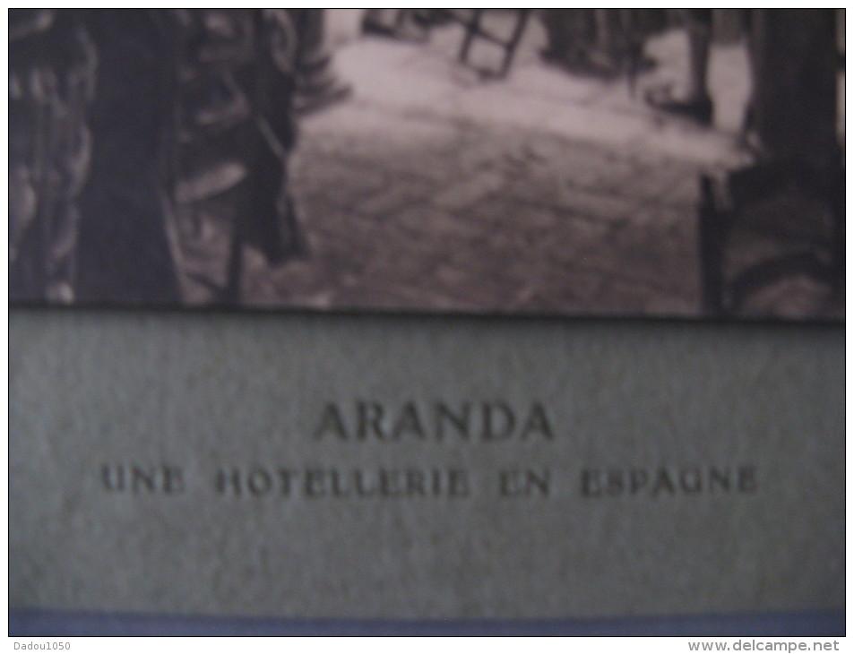 Aranda,une Hotellerie En Espagne - Vieux Papiers