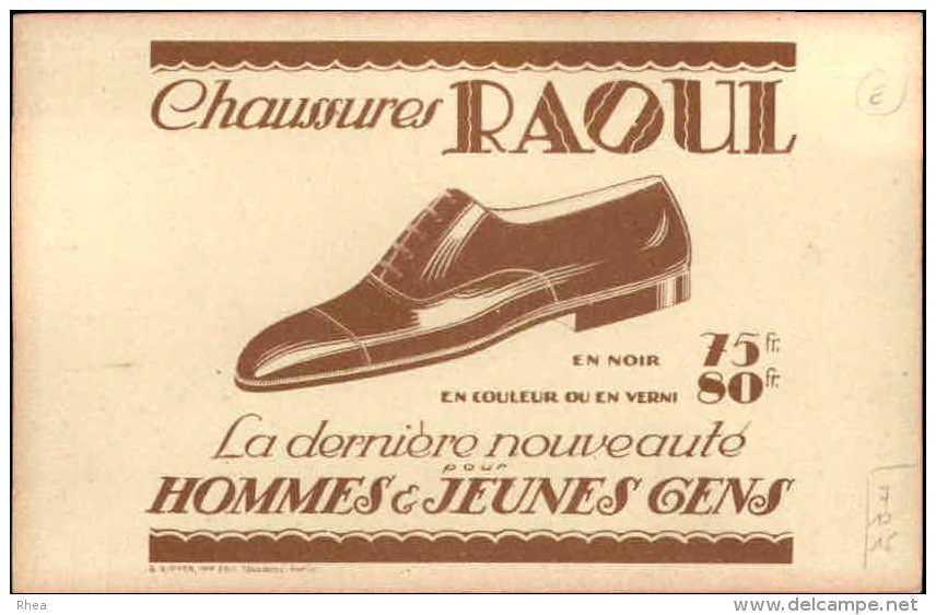 CHROMOS - PUBLICTE POUR CHAUSSURES RAOUL - Dessin D´Armande Martin - Landau - Bébé - Chromos