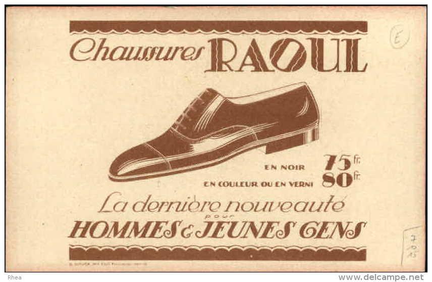 CHROMOS - PUBLICTE POUR CHAUSSURES RAOUL - Dessin D´Armande Martin - Enfants - Chromos