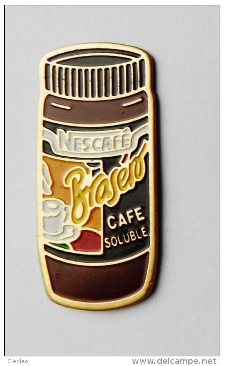 Pin's Nescafé Braséro Café Soluble - 27R - Badges
