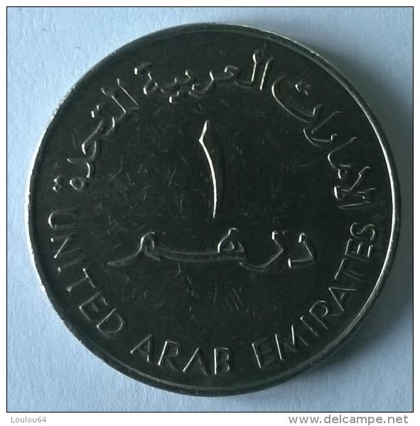 Monnaie - Emirats Arabes Unis - 1 Dirham 1973 - - Emirats Arabes Unis