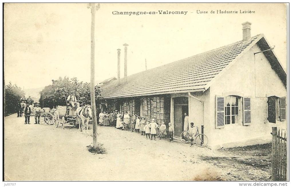 Champagne En Valromey Usine Laitière - France