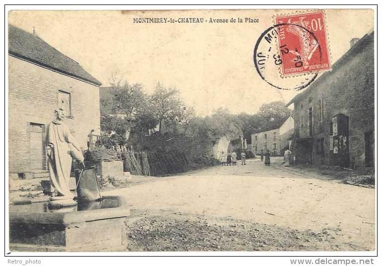 Montmirey Le Château - Avenue De La Place - Autres Communes
