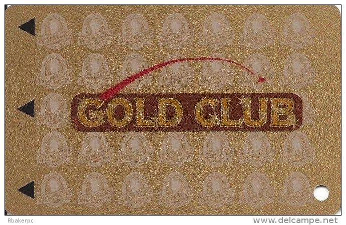 Womacks Casino Cripple Creek CO Slot Card (Blank) - Casino Cards