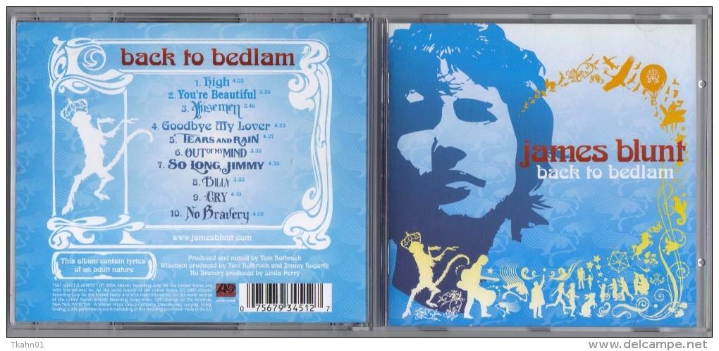 "C-D ALBUM   JAMES-BLUNT   ""  BACK TO BEDLAM   "" - Nueva Era (New Age)"