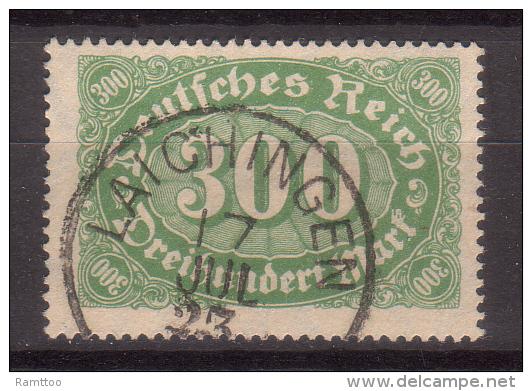 Deutsches Reich , 1922 , Mi.Nr. 221 O / Used - Deutschland