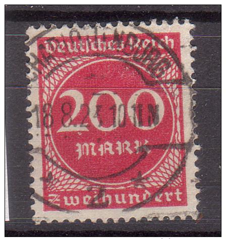 Deutsches Reich , 1923 , Mi.Nr. 269 O / Used - Deutschland