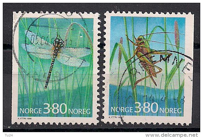 Norwegen  (1998)  Mi.Nr.  1275 + 1276  Gest. / Used  (ei121) - Norwegen