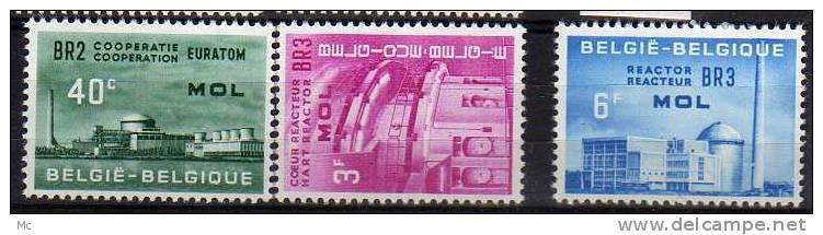 Belgique N° 1195 / 1197 Luxe ** - Belgien
