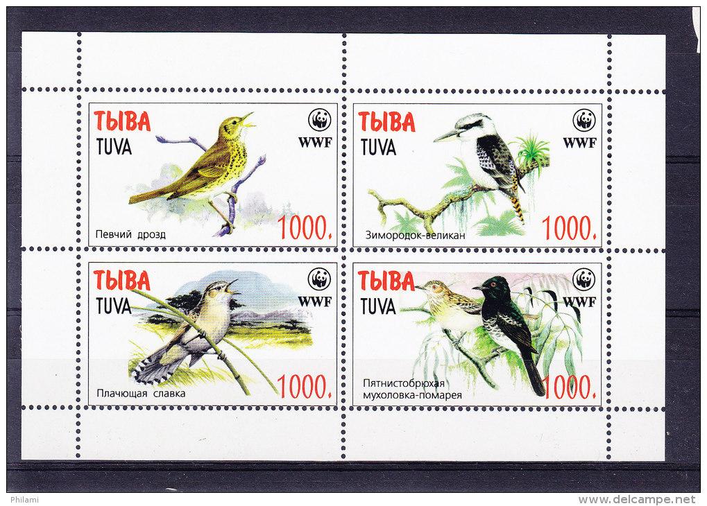 TUVA_ ** MNH, WWF .  (5R74) - Moineaux