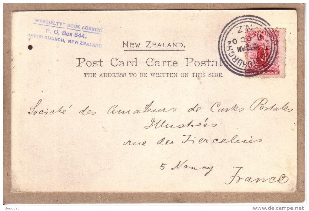 NOUVELLE ZELANDE - FEMME - A MAORI BELLE - éditeur S. M. & Co´s Séries , Photo Deutou N° 5 - Avant 1904 - Nouvelle-Zélande
