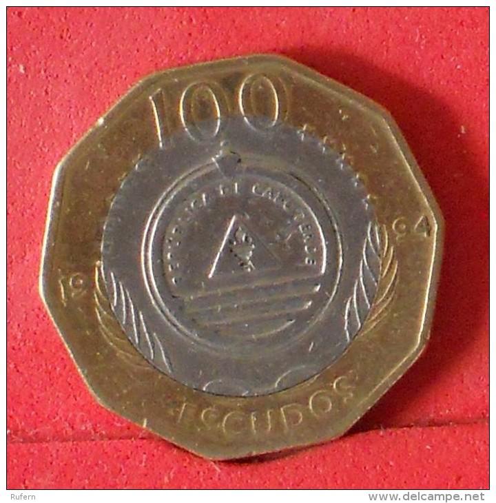 CAPE VERDE  100  ESCUDOS  1994   KM# 40  -    (Nº13456) - Cap Vert