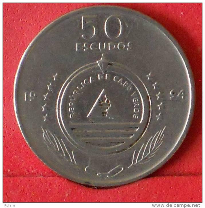 CAPE VERDE  50  ESCUDOS  1994   KM# 37  -    (Nº13498) - Cap Vert
